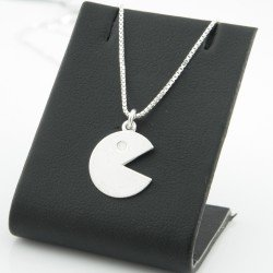 Pacman necklace with silver 925