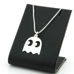 ghost necklace with silver 925