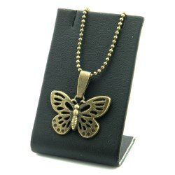 Necklace with a butterfly