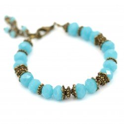 Bracelet with crystals