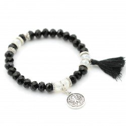 Bracelet with tassel and pendant