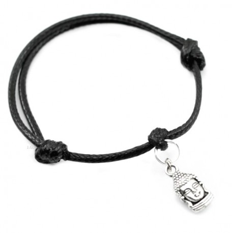 Buddha bracelet with string