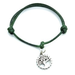 Tree bracelet with string
