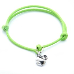 Apple bracelet with string