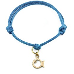 fish bracelet with string