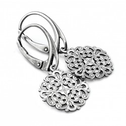 Ornaments - silver earrings
