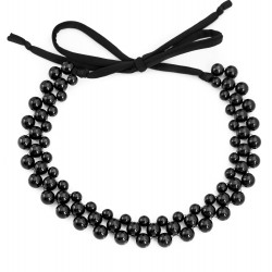 Acrylic necklace black