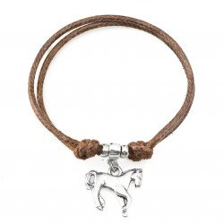 Horse bracelet with string