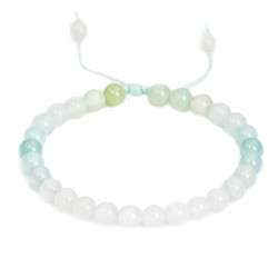 Pastel bracelet with agate