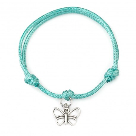 butterfly bracelet with string