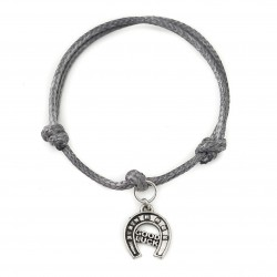 horseshoe good luck bracelet with string