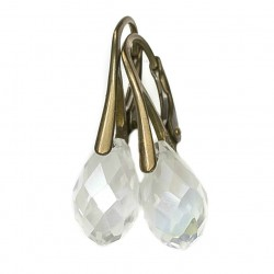 Earrings crystal drops