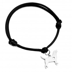 String bracelet dog labrador surgical steel
