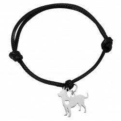 String bracelet dog  surgical steel