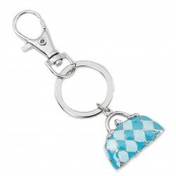 Key ring with bag