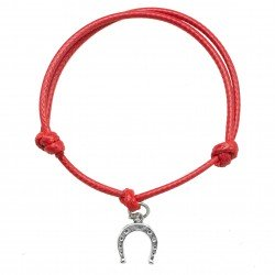 horseshoebracelet with  string