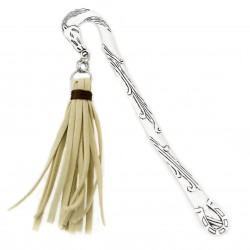 Bookmark horse with straps tassel