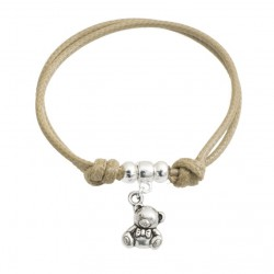 Teddy bear string bracelet