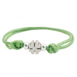 clover bracelet with string