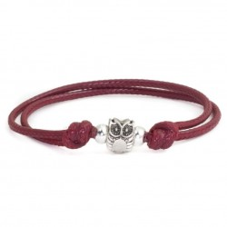 Owl bracelet with string