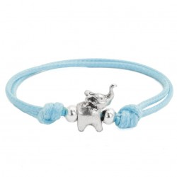 Elephant bracelet with string